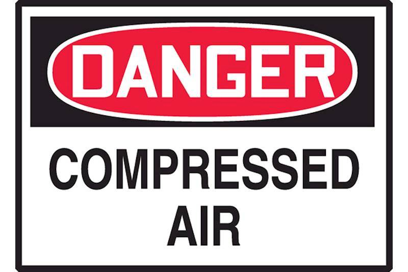 Cylinder and Compressed Air Signs