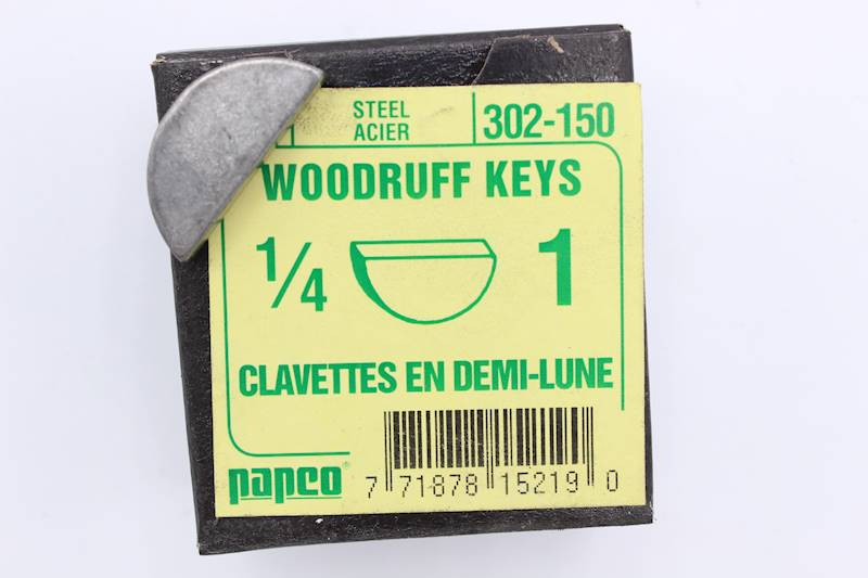 Woodruff Key Stock