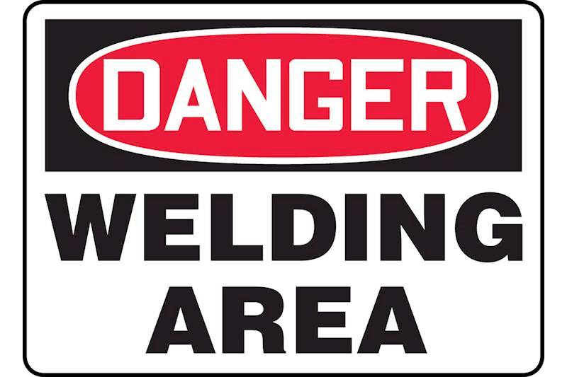Hot Work and Welding Signs