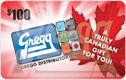 Gregg Distributors Gift Card