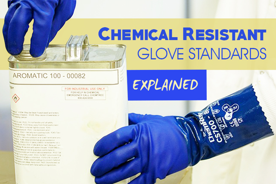 Chemical Resistant Glove Standards Explained