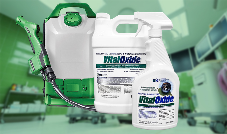How to Disinfect with Vital Oxide?